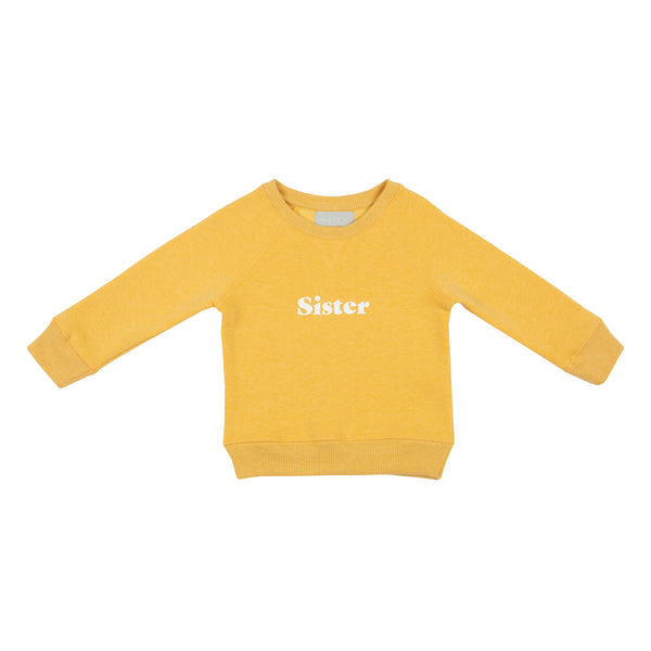 Faded Sunshine 'SISTER' Sweatshirt