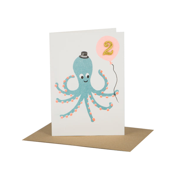 Circus Age Card - Squid Age 2