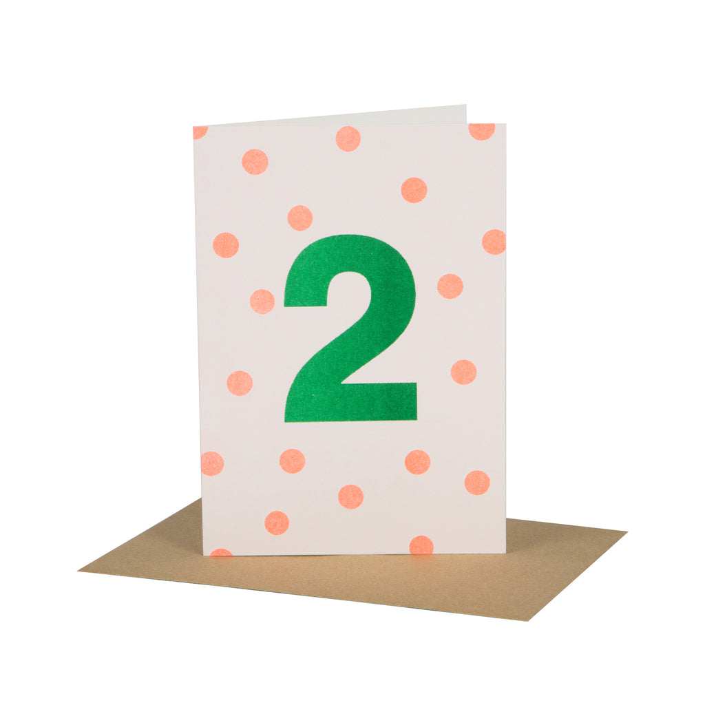 Orange/Green Age 2 Card