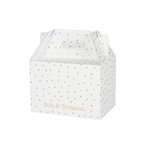 Gold Spotted Tutu Gift Box