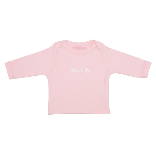 Pale Pink Trés Cute Baby T Shirt