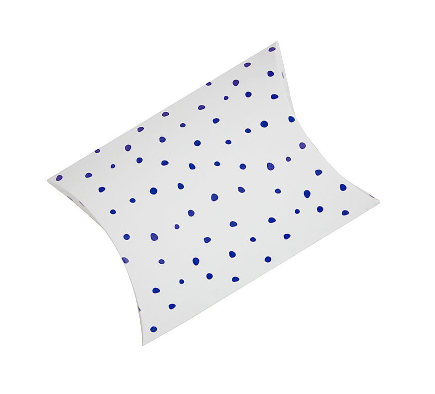 Blue Spotted Gift Envelope