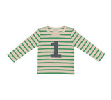 Gooseberry & Cream Breton Striped Number 1 T Shirt