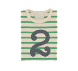 Gooseberry & Cream Breton Striped Number 2 T Shirt
