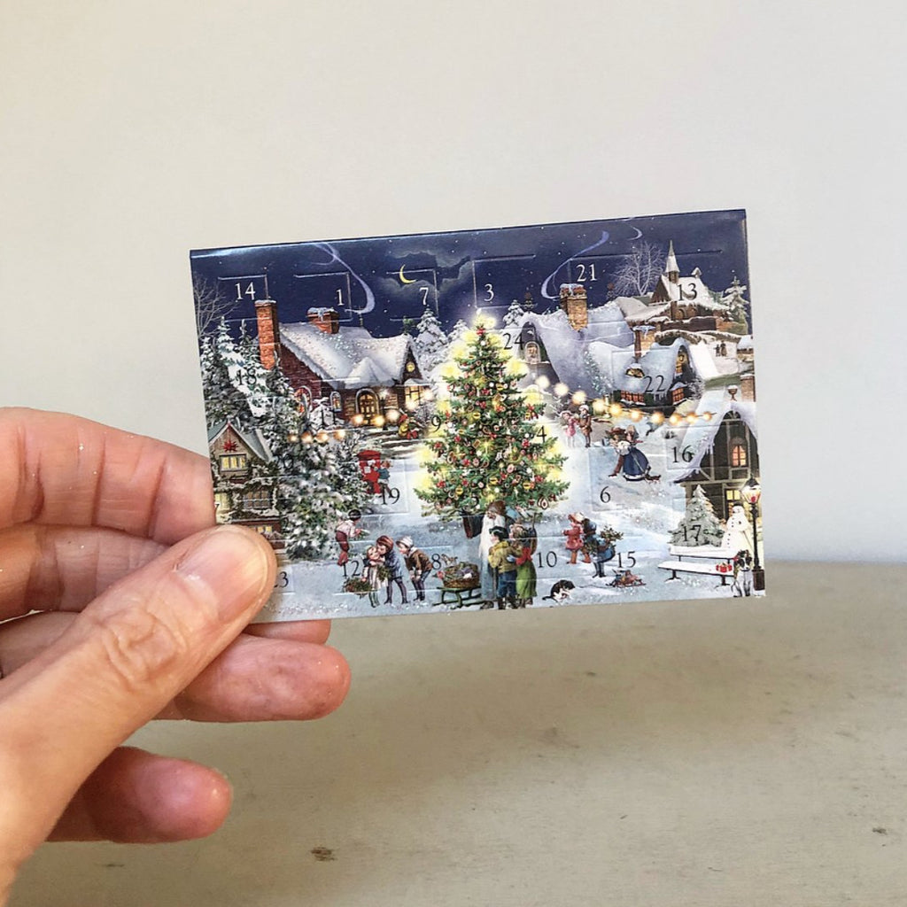 Tiny Christmas Tree Advent Calendar