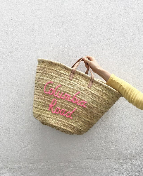 Columbia Road Basket - Pink