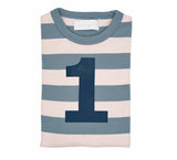Slate & Stone Striped Number 1 T Shirt