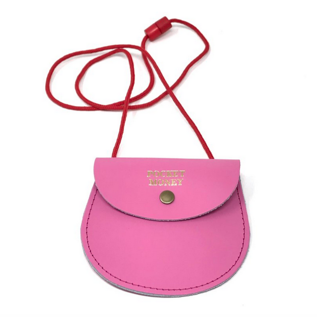 Pink Pocket Money Purse