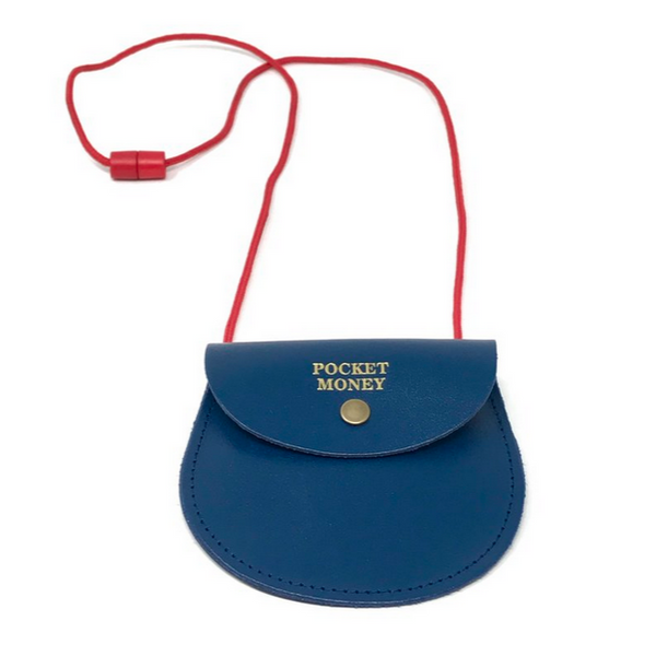 Navy Pocket Money Purse