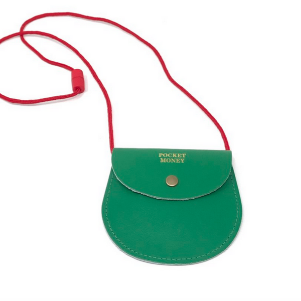 Green Pocket Money Purse