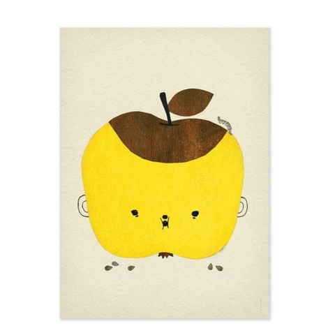 Apple Papple - Apple Poster - Fine Little Day