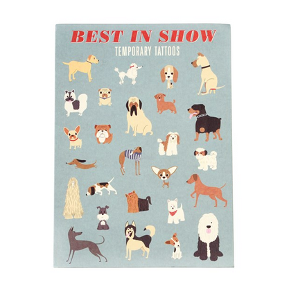 Best in Show Temporary Tattoos