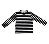 Black & White Breton Striped T Shirt