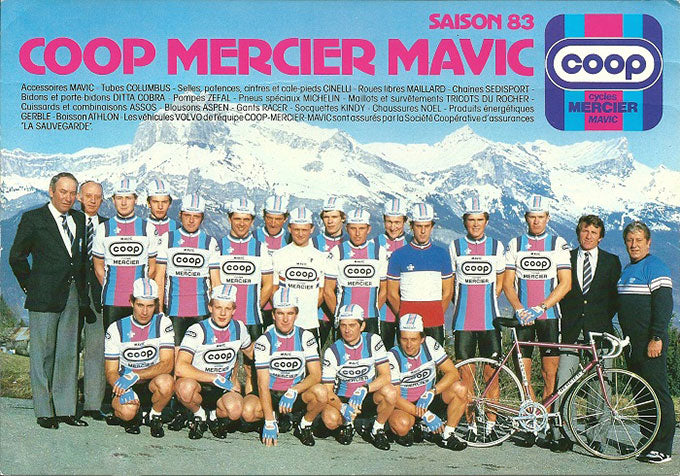 Coop-Mercier-Mavic, 1983