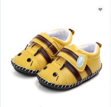 FAJ Soft Sole Handmade Cute Animal Leather Baby Shoes