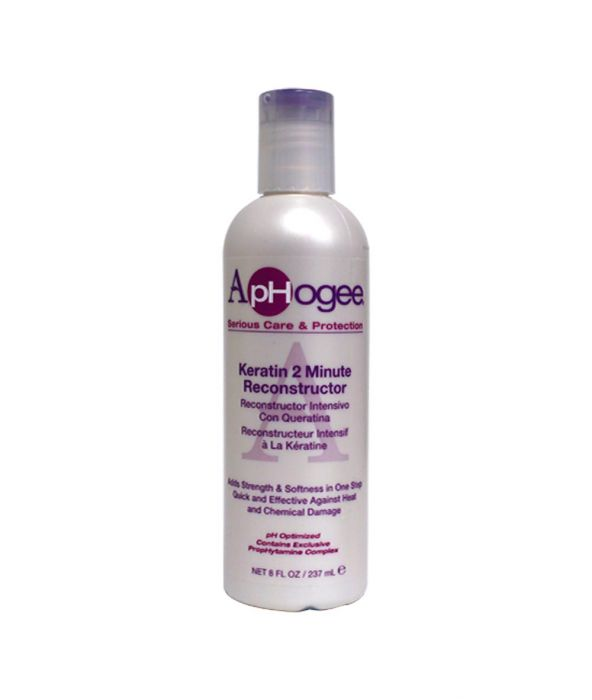 Aphogee Keratin 2 Minute Reconstructor 8Oz.
