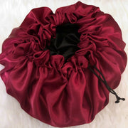 Love, mj - Satin Bonnet Red Berry
