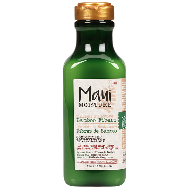 Maui Thicken & Restore + Bamboo Fibers Conditioner 13Oz.