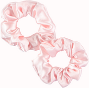 Only curls silk scrunchies grande - pink or black