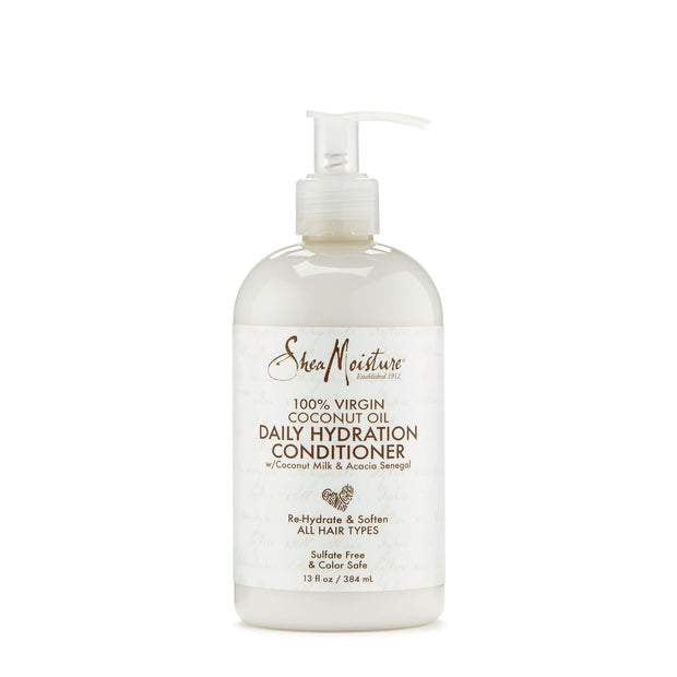 SheaMoisture 100% Virgin Coconut Oil Daily Hydration Conditioner (13Oz.)