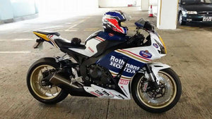 How to remove and install new Honda CBR 1000RR Fairings?