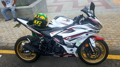 KAWASAKI FAIRING KIT BY 12K MOTOR FAIRING