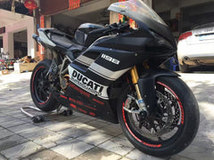 DUCATI FAIRING KIT 848 MATT BLACK