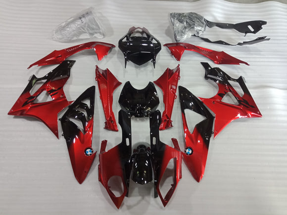 ---AU STOCKING---Candy Red Fairing Kit for BMW S1000RR 2009-2014