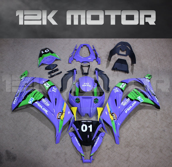 Purple Fairing kit fit 2011 2012 2013 2014 2015 Kawasaki ZX-10R