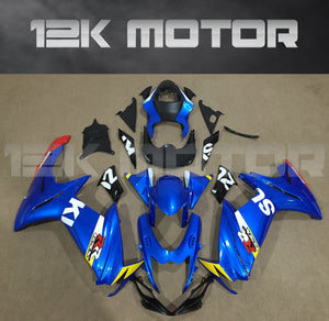 Bright Blue Fairing fit for SUZUKI GSXR 600/750 2011-2017 Aftermarket Fairing Kit
