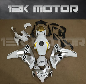 Silver Repsol Fairing Fit for HONDA CBR1000RR 2008-2011 Aftermarket Fairing Kit