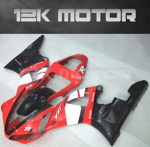 Red Factory Fairing For Yamaha R1 2000 2001 Aftermarket Fairing Kit