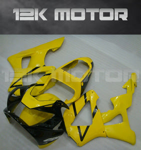 Yellow and Black Fairing fit for HONDA CBR929RR 2000 2001 Aftermarket Fairing Kit