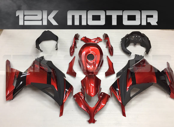 Candy Red Ninja300 Color Fairing Kit For Kawasaki Ninja 300 Fairing