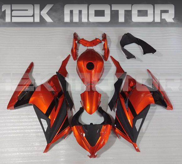 CANDY BURNT ORANGE Ninja300 Fairing Kit For Kawasaki Ninja 300 Fairing