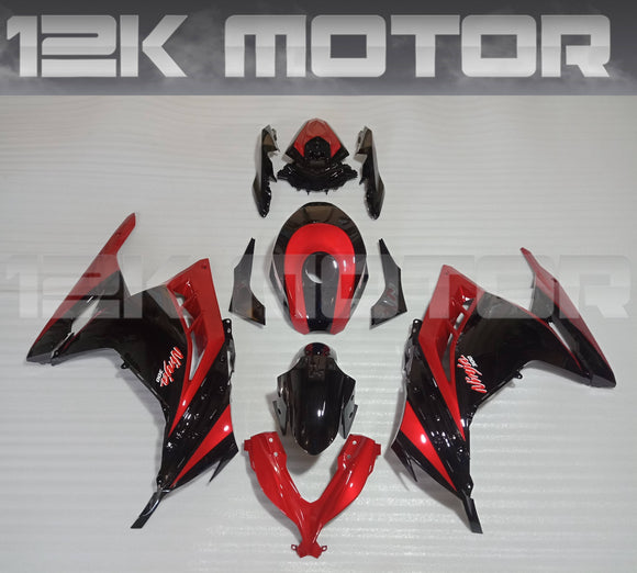 Red Black Special Ninja300 Scheme Fairing Kit For Kawasaki Ninja 300 Fairing