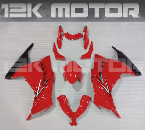 Red Black Original Ninja300 Design Fairing Kit For Kawasaki Ninja 300 Fairing