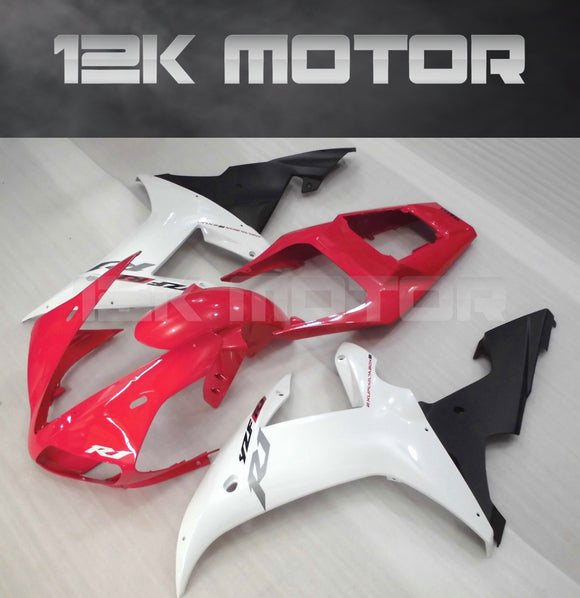 Red White Fairing For Yamaha R1 2002 2003 Aftermarket Fairing Kit