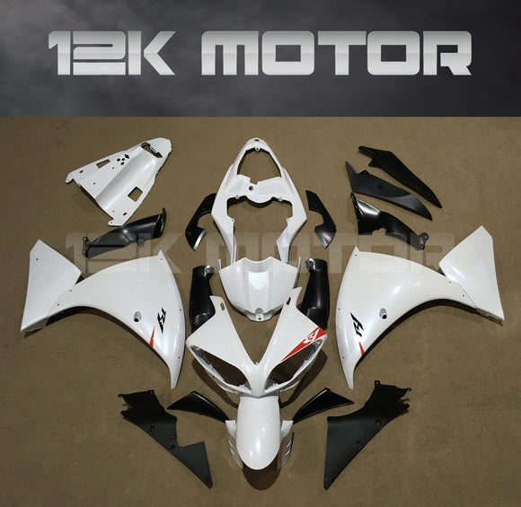 Silver White Fairing for Yamaha R1 2009-2012 Aftermarket Fairing kits