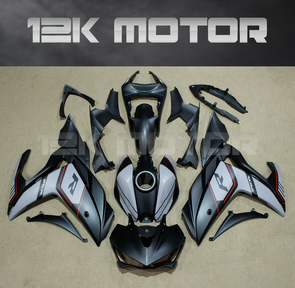 Matt Black Aftermarket Fairing For Yamaha YZF-R3 2015-2017 Aftermarket fairing kits