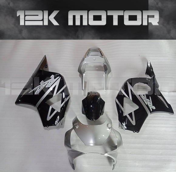 Black and White Fairing fit for HONDA CBR954RR 2002 2003 Aftermarket Fairing Kit