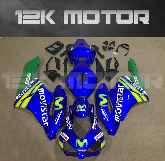 HONDA CBR1000RR Fairings 2004 2005 Movistar Motorcycle Fairing kits