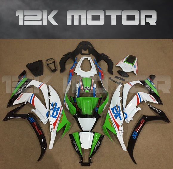Green Fairing kit fit 2011 to 2015 ZX-10R