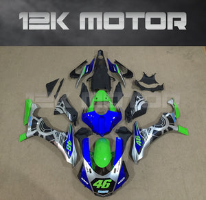 Green and Blue Fairings for Yamaha R1 2015-2019 Aftermarket Fairing kits