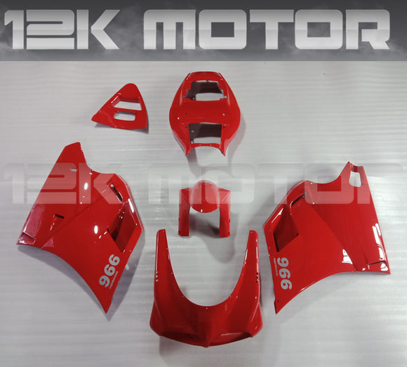 All Red Color Ducati 748 916 996 Fairing Kit