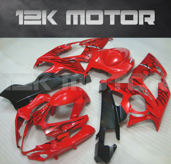 Red Fairing kits Fit for SUZUKI GSXR 1000 2005 2006 Aftermarket Fairing Kit
