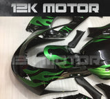 Green Flame Fairing Kit fit for Yamaha YZF600R Thundercat 1997-2007