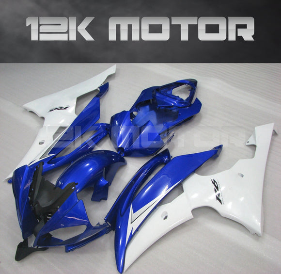 Blue and White Fairingfit for Yamaha R6 2008-2016 Aftermarket Fairing Kits