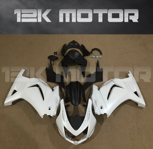 Ninja 250R EX250 2008 - 2012 Satin White Fairing