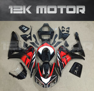 Black Red fit for HONDA CBR1000RR 2006 2007 Aftermarket Fairing Kits